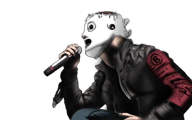 Corey Taylor de Slipknot 4