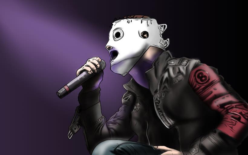 Corey Taylor de Slipknot 6