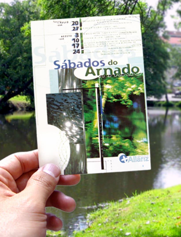 Sábados do Arnado (Concello de Allariz). Cartel y postal. 2