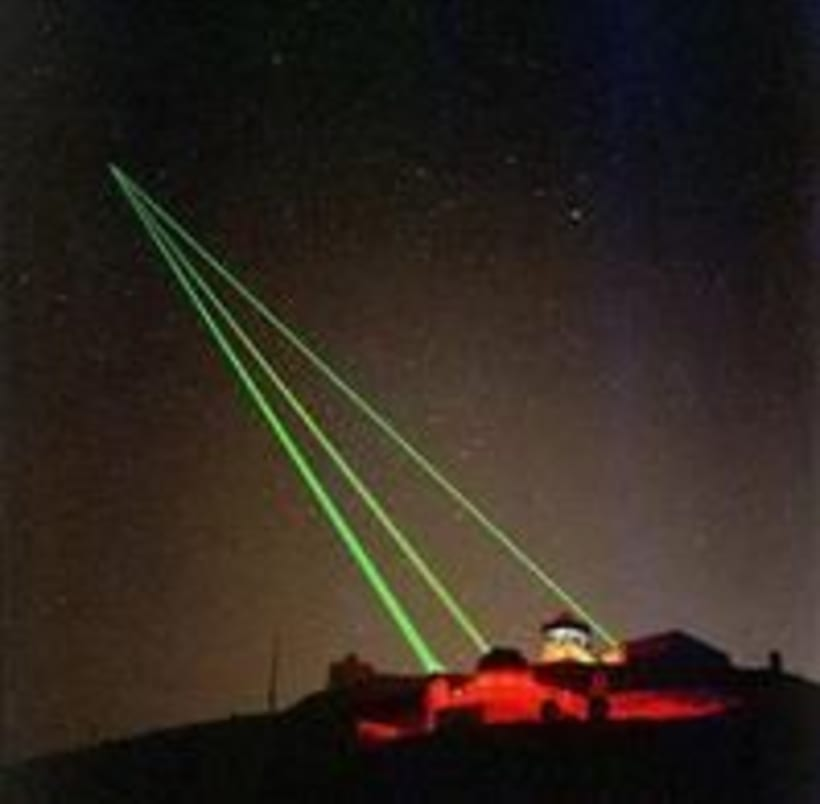 Astronomy Laser weapon stystem has been deployed -1