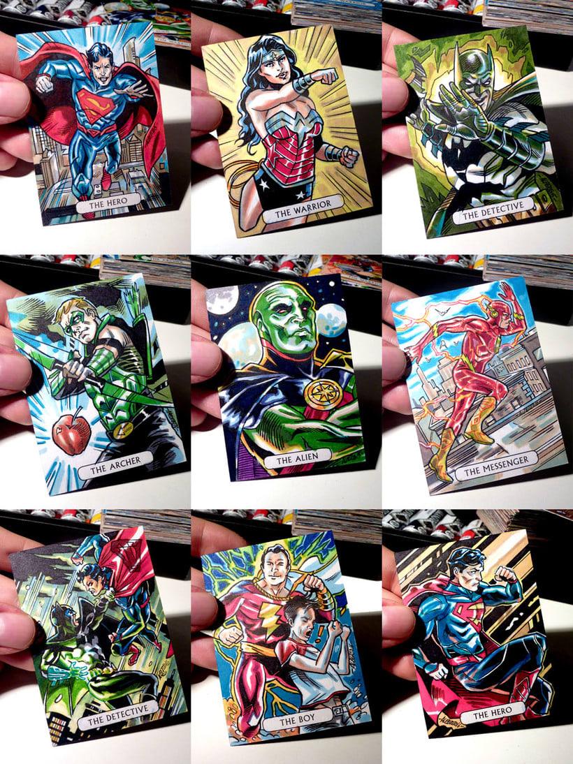 ACEO Sketchcards 'Liga de la Justicia' 1