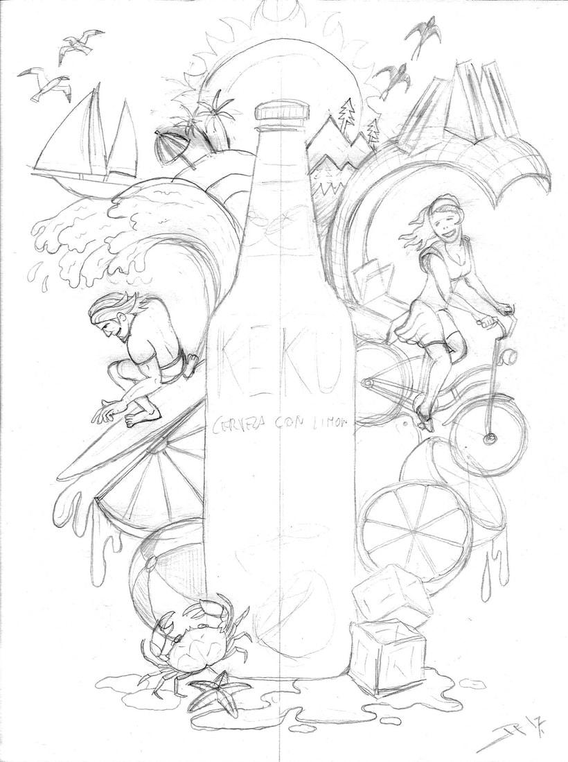 Mi Proyecto del curso: Ilustración exprés con Illustrator y Photoshop 5