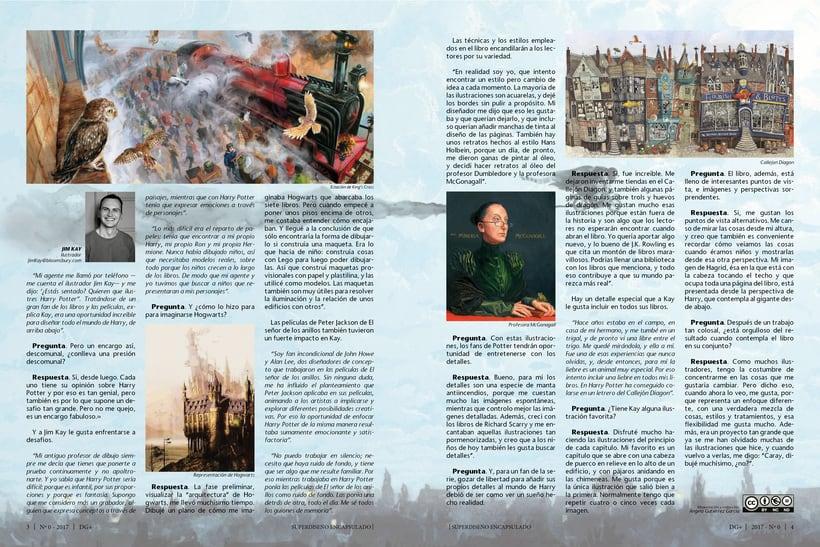 Maquetación de una revista ficticia 1