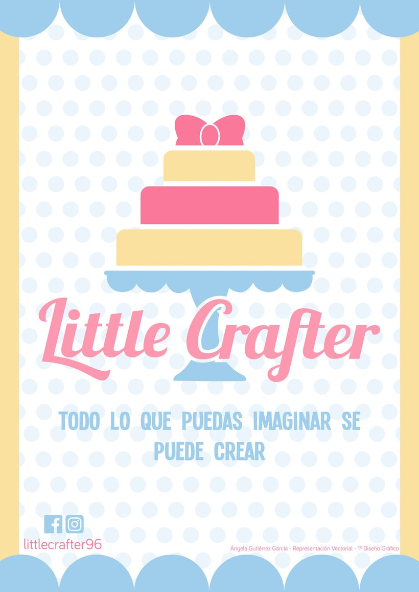 Diseño de la identidad corporativa de Little Crafter -1