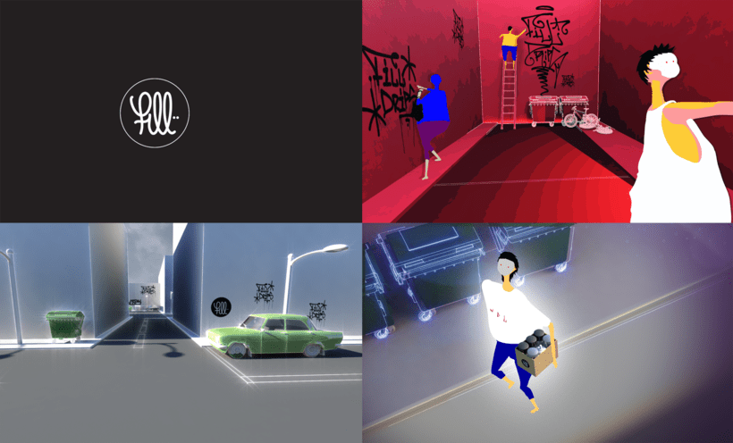 Fill Drips 2017/ Design and animation: Eduardo Fierro Duque -1