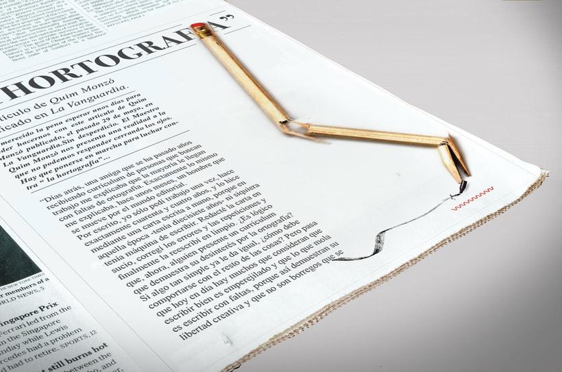 La Hortografía - Mauricio Alfaro - Ilustración editorial 0