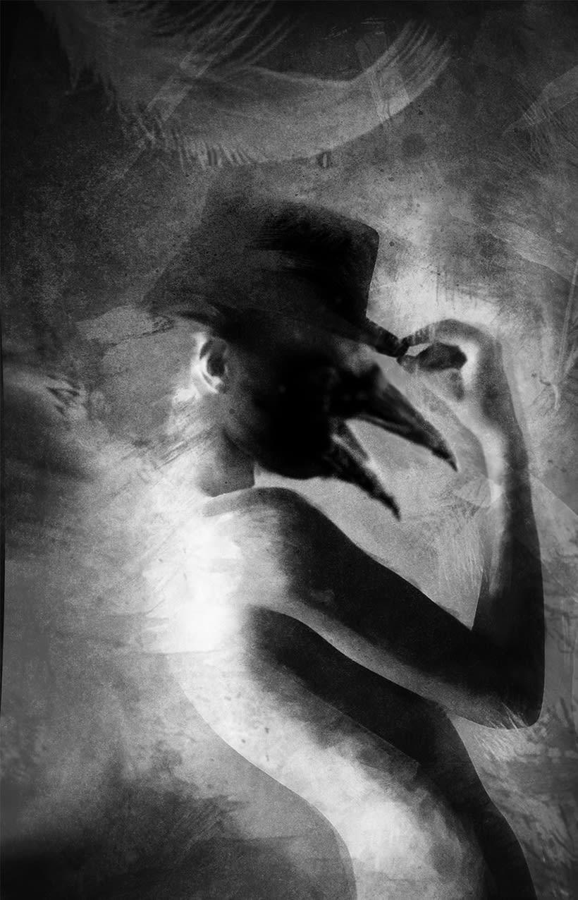 Crow. Mi Proyecto del curso: Postproducción fotográfica para la imaginación -1