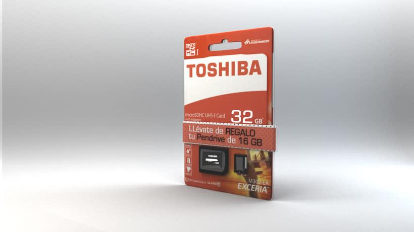 USB Toshiba: Modeling and Texture -1