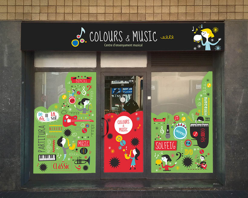 Colours and music -1