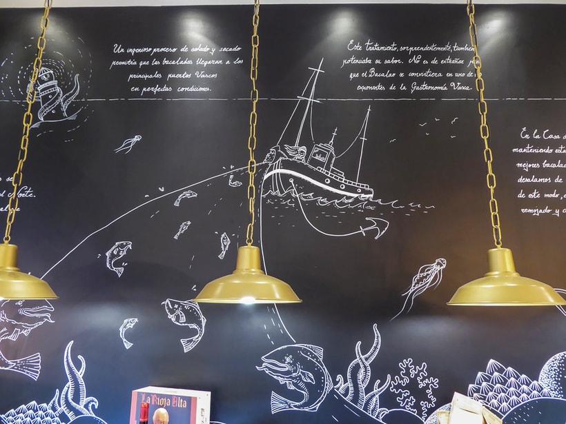 "Mural ""La  Casa del Bacalao"" 6"