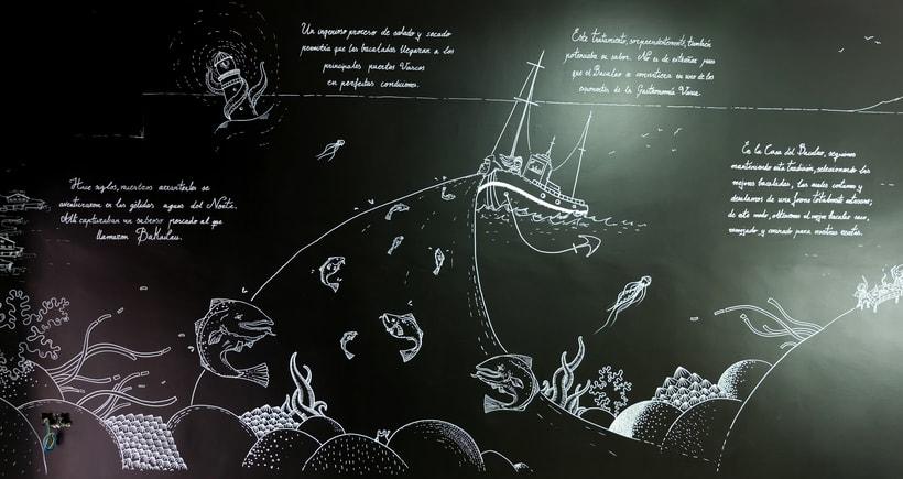 "Mural ""La  Casa del Bacalao"" 5"