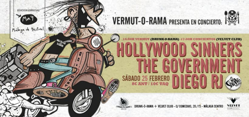 Cartel The Government + Hollywood Sinners + Diego RJ - Vermut-O-Rama 4