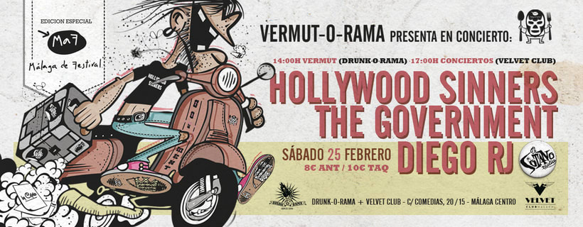 Cartel The Government + Hollywood Sinners + Diego RJ - Vermut-O-Rama 5