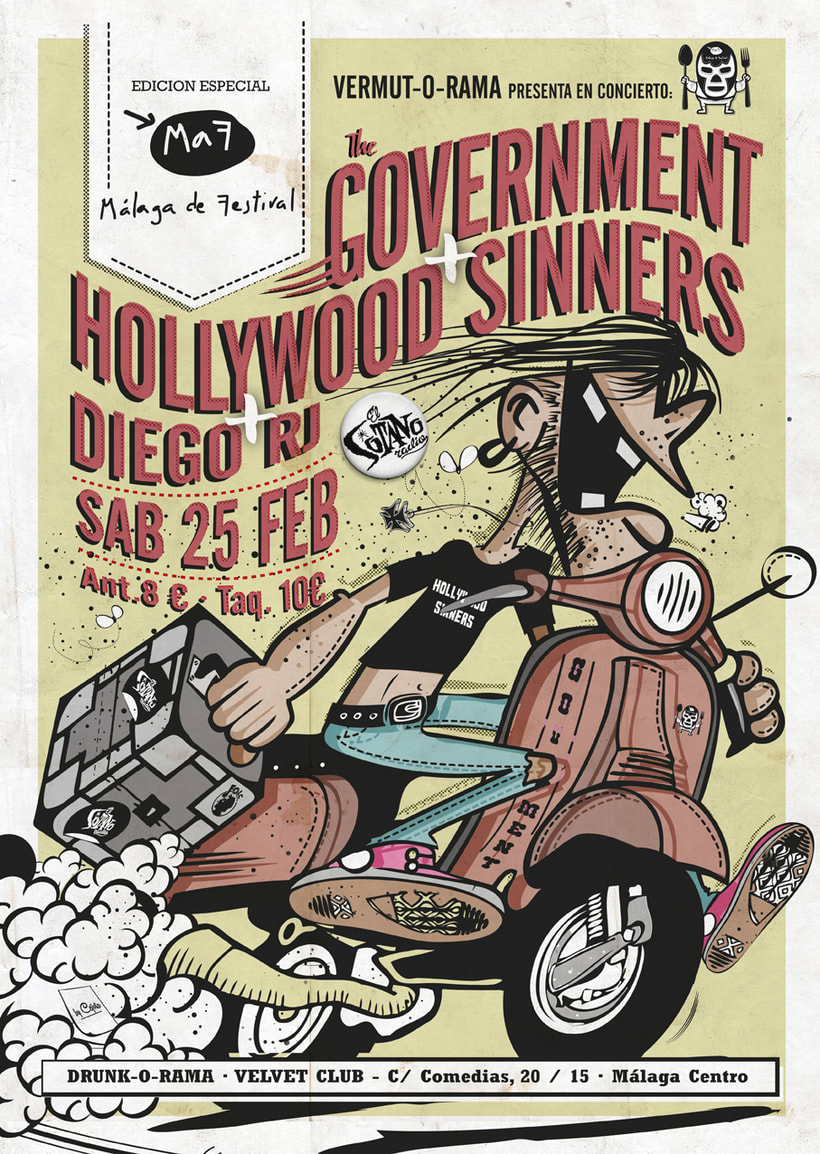 Cartel The Government + Hollywood Sinners + Diego RJ - Vermut-O-Rama 0