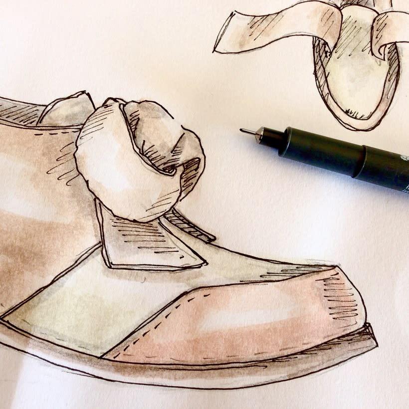 FOOTWEAR & ACCESSORIES ILLUSTRATION - Watercolor 1