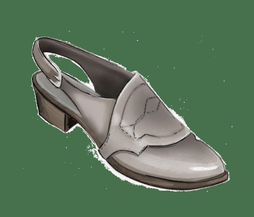 Diseño e ilustración de calzado - Footwear Illustration & design 3