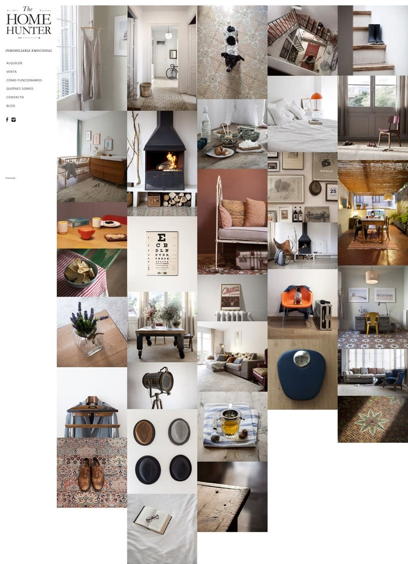 Web para The Home Hunter 1