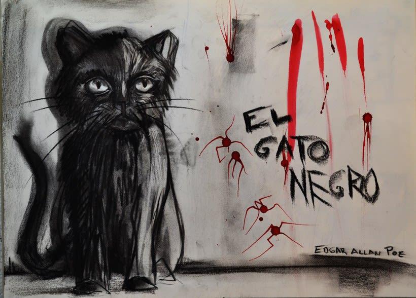 EL GATO NEGRO ( EDGAR ALLAN POE ) -1