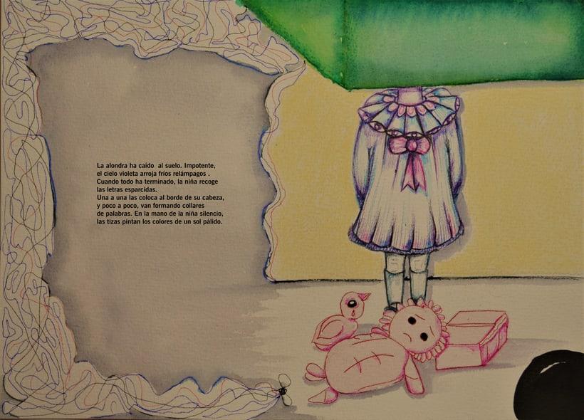 LA NIÑA SILENCIO (Cecile Roumiguiere),proyecto BBAA. 8
