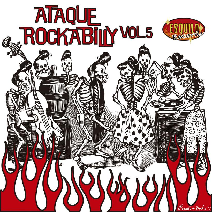 CD // VV.AA. - Ataque Rockabilly Vol. 5. 0