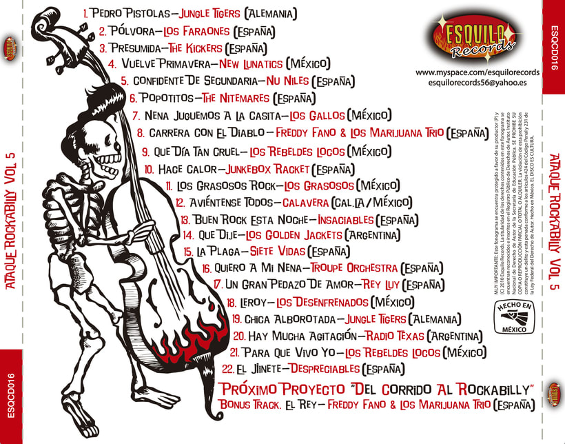 CD // VV.AA. - Ataque Rockabilly Vol. 5. 1