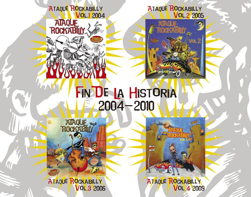 CD // VV.AA. - Ataque Rockabilly Vol. 5. 4