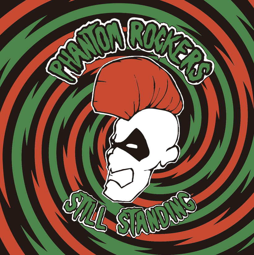 CD // Phantom Rockers - Still Standing. (Edición Mexicana) -1