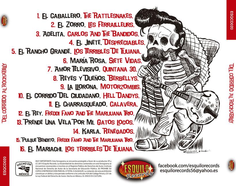 CD // VV.AA. - Del Corrido Al Rockabilly. 0