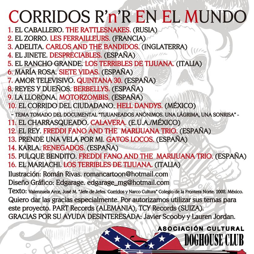 CD // VV.AA. - Del Corrido Al Rockabilly. 1