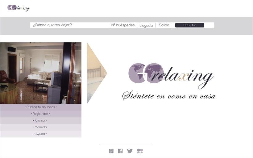 Logo y Web para Go Relaxing 1
