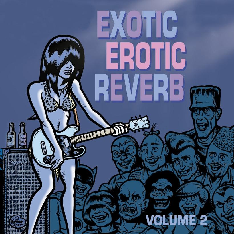 CD // VV.AA. - Exotic Erotic Reverb. Volúmen 2. 0