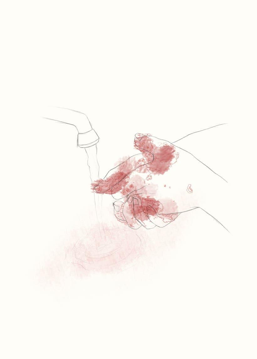 Ilustración para ARTICUENTOS, de Juan José Millás (trabajo de clase) 0