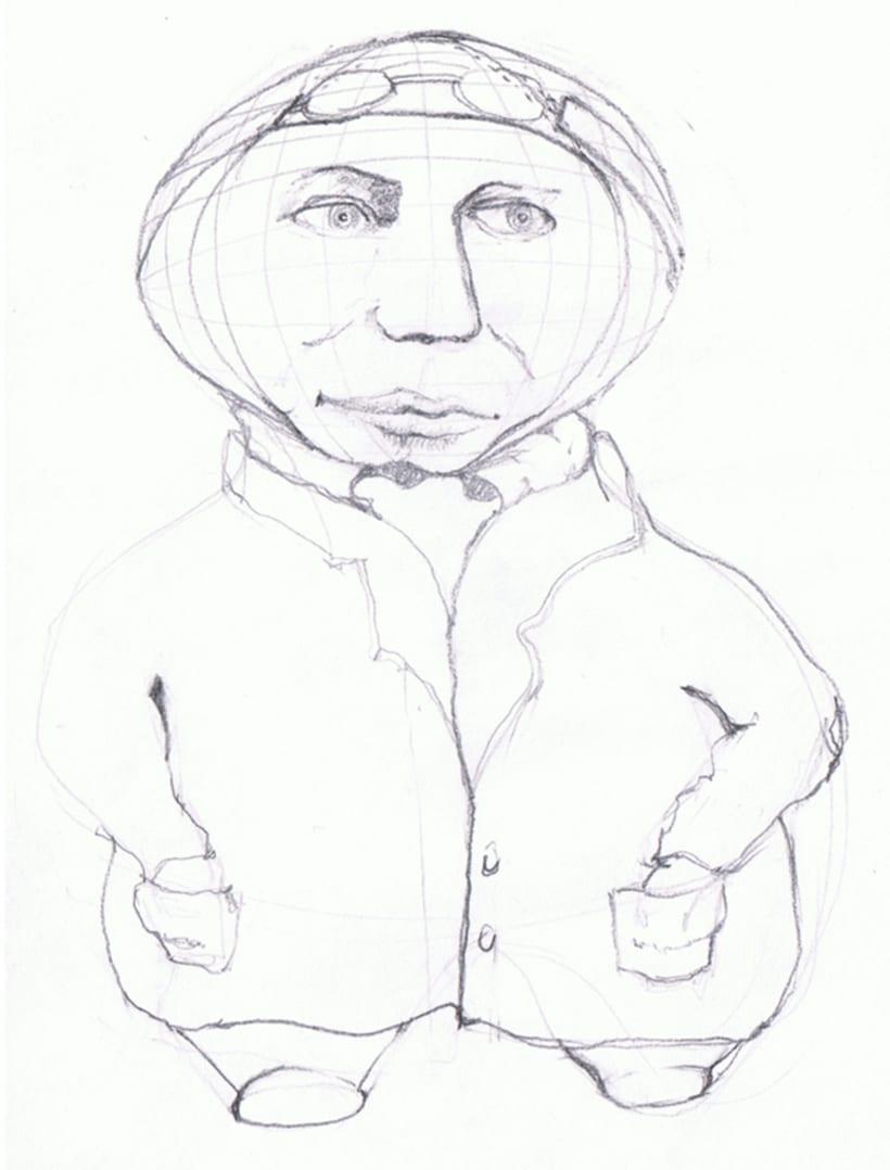 Ilustraciones para Zepelines 13