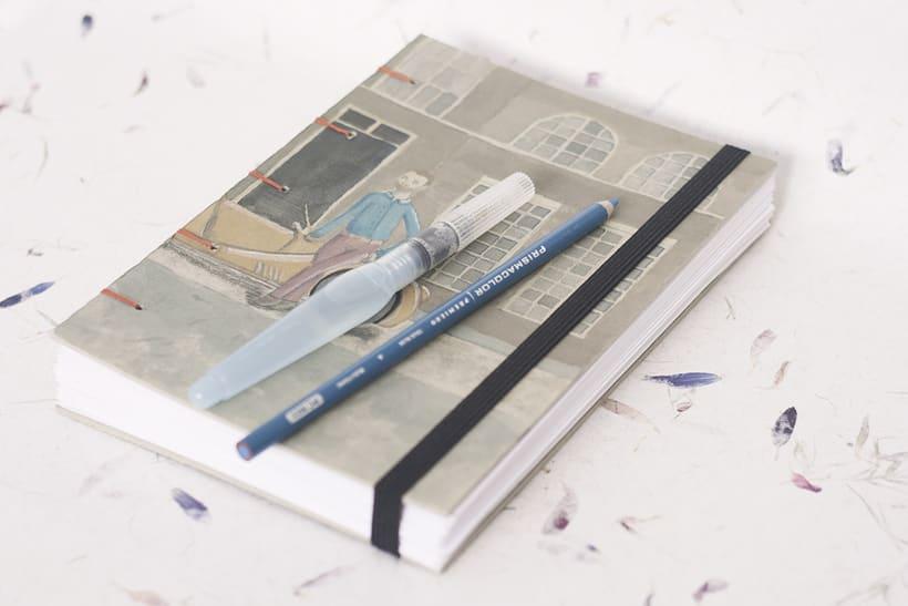 Cuadernos Ilustrados Personalizados. -1
