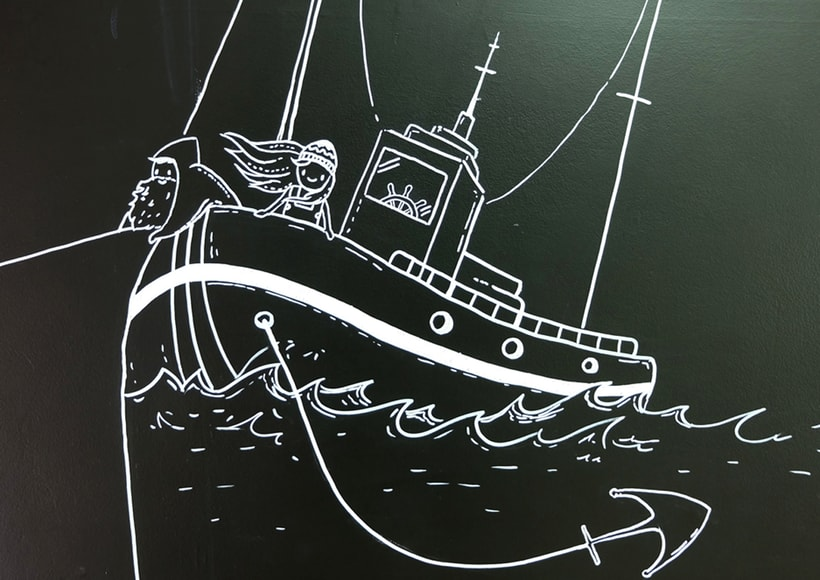 "Mural ""La  Casa del Bacalao"" 8"