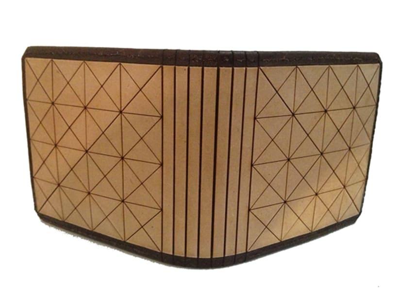 MA-TE: Billetera de madera y cuero 2