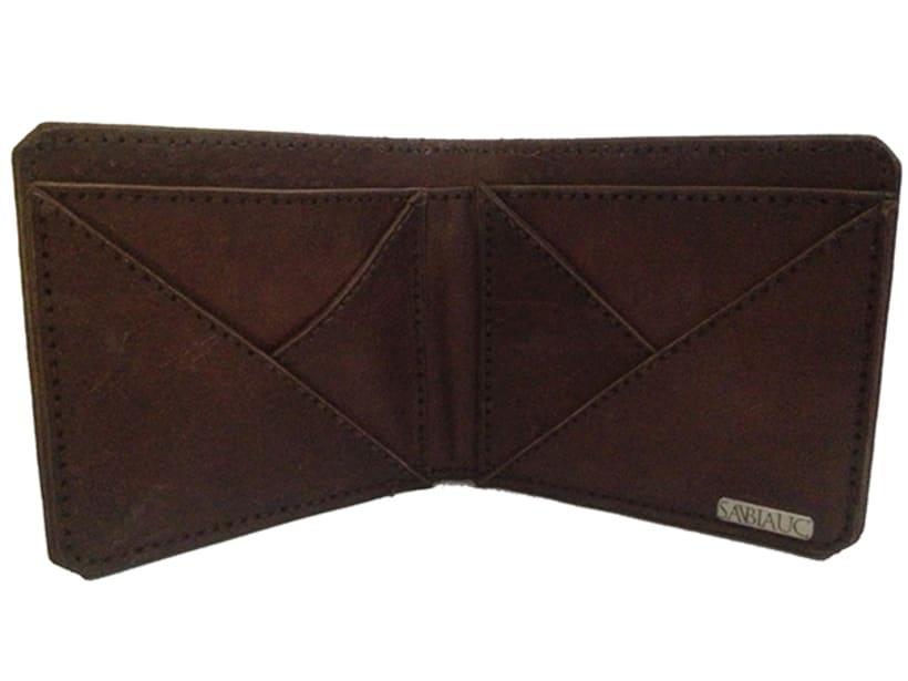 MA-TE: Billetera de madera y cuero 3