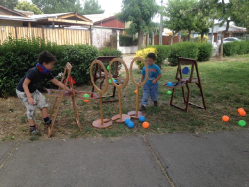 Kaboom: Juego diseñado para la rehabilitación de niños con problemas motores 4
