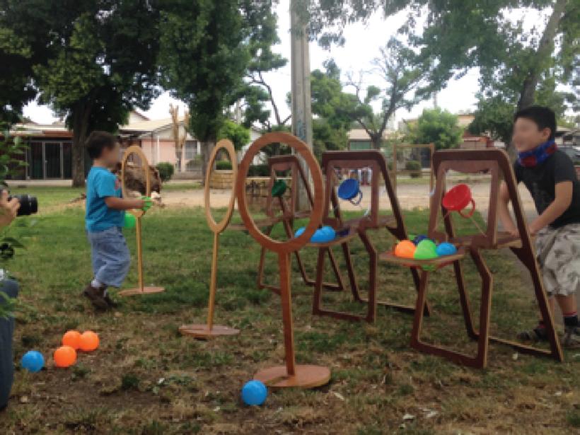 Kaboom: Juego diseñado para la rehabilitación de niños con problemas motores 5