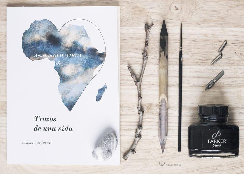 Ilustración para Portada. Maquetación Editorial. -1