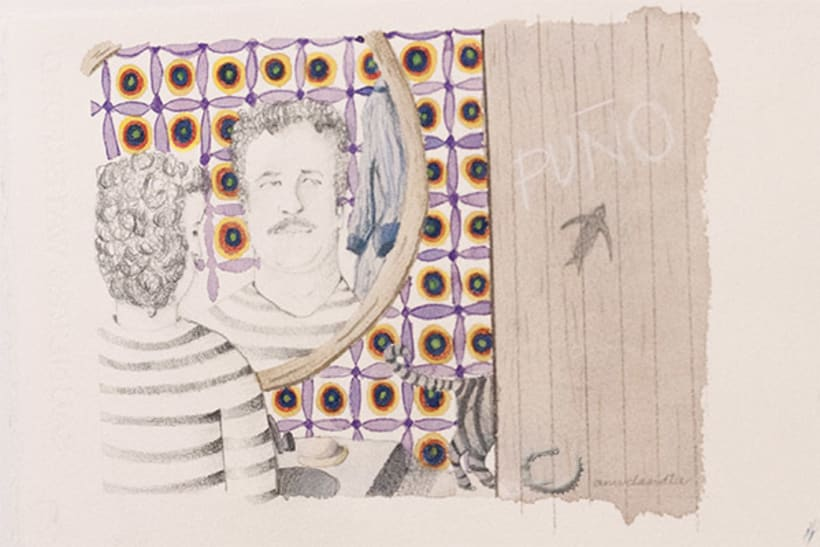 Ilustraciones para Cuestionario Proust en La Lectora de Guermantes. 1