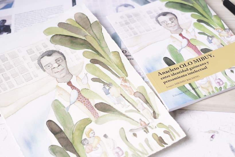 Ilustración para Portada. Diseño Editorial. -1