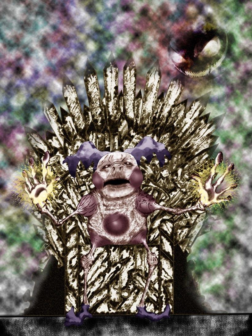 Mr Mime en el Trono de Hierro -1