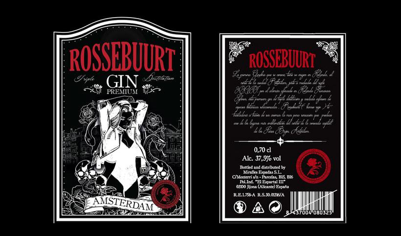 ROSSEBUURT (Dry Gin) 1
