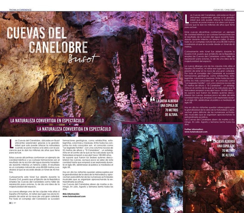 TROVALIA EXPERIENCE (Magazine) 1