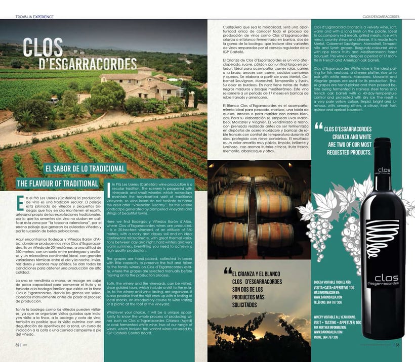 TROVALIA EXPERIENCE (Magazine) 3