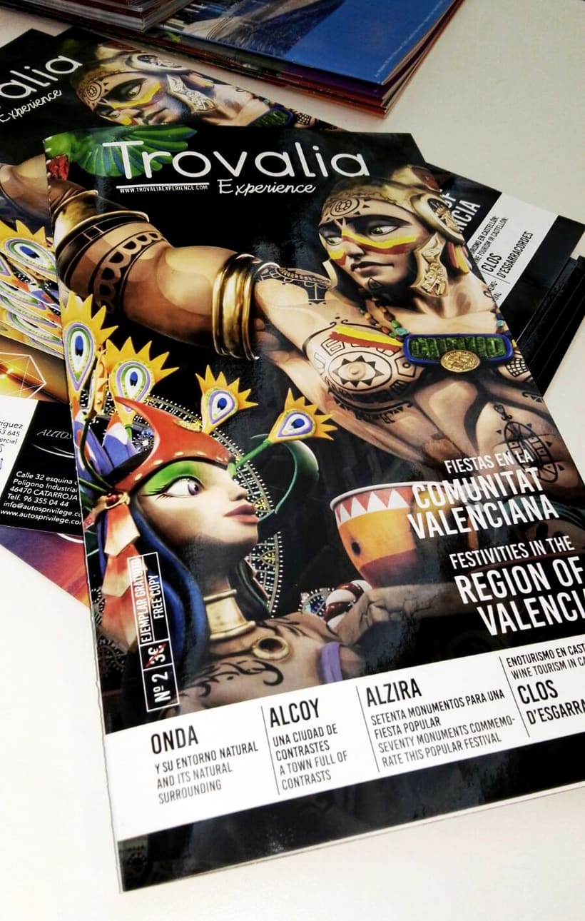 TROVALIA EXPERIENCE (Magazine) 0
