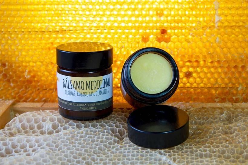 Etiquetas para cosmética apícola 6