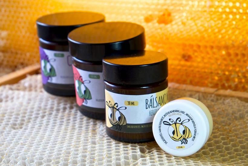 Etiquetas para cosmética apícola 5