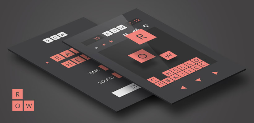 Aplicación móvil de juego ROW 0